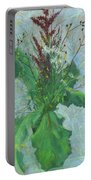 Burdock Leaves  Portable Battery Charger