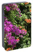 Burgazada Island Flower Color Portable Battery Charger