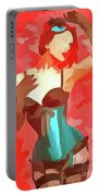 Burlesque Red Portable Battery Charger