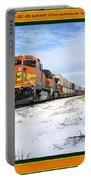 Burlington Northern Santa Fe Bnsf - Railimages@aol.com Portable Battery Charger