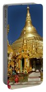 Burma's Golden Pagoda Portable Battery Charger