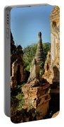 Burmese Pagodas In Ruins Portable Battery Charger