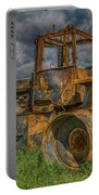 Burned Out Farm Tractor Portable Battery Charger