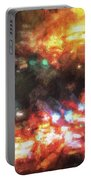 City Of Burning Lights Portable Battery Charger