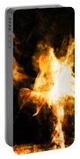 Burning Man Portable Battery Charger
