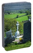 Burren Crosses County Clare Ireland Portable Battery Charger
