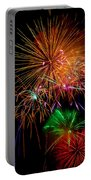Burst Of Bright Colors Portable Battery Charger