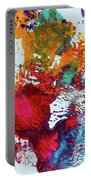 Burst Of Consciousness Portable Battery Charger