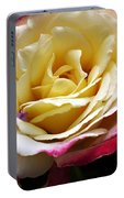 Burst Of Rose Portable Battery Charger