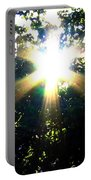 Burst Of Sunlight Portable Battery Charger