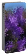 Bursting Blooms Portable Battery Charger
