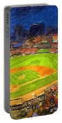 Busch Stadium At Night Rocks Portable Battery Charger