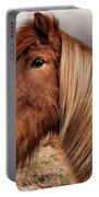 Bushy Icelandic Horse Portable Battery Charger by Pradeep Raja PRINTS
