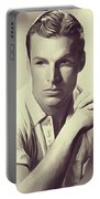 Buster Crabbe, Vintage Actor Portable Battery Charger