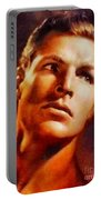 Buster Crabbe, Vintage Hollywood Legend Portable Battery Charger