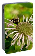 Busy As A Bee Portable Battery Charger by Valeria Donaldson