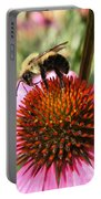 Busy Coneflower Portable Battery Charger