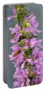 Busy Flower Portable Battery Charger