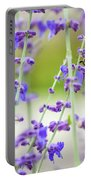 Busy In Lavender 3 Portable Battery Charger