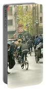 Busy Street, Shanghai Portable Battery Charger