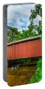 Butchers Mill Covered Bridge Portable Battery Charger
