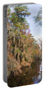 Butler Creek In Autumn Colors Portable Battery Charger