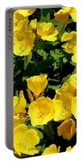Buttercup Flowers Portable Battery Charger