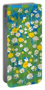 Buttercups And Daisies Portable Battery Charger