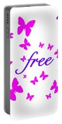 Butterflies Free Portable Battery Charger