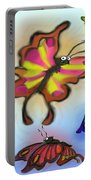 Butterflies Portable Battery Charger