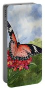 Butterfly - 180709 Portable Battery Charger by Sam Sidders