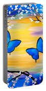 Butterfly Bliss Portable Battery Charger