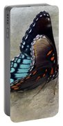 Butterfly Blue On Groovy 2 Portable Battery Charger