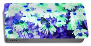 Butterfly Blues Portable Battery Charger