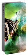 Butterfly Daydream Portable Battery Charger