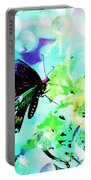 Butterfly Fantasty Portable Battery Charger