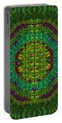 Butterfly Flower Jungle And Full Of Leaves Everywhere  Portable Battery Charger