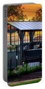 Butterfly House At Sunset Portable Battery Charger