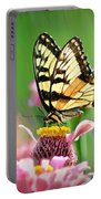 Butterfly In Summer Portable Battery Charger