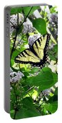Butterfly In The Lilac No. 1 Portable Battery Charger