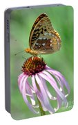 Butterfly In The Wind Portable Battery Charger