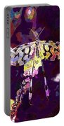 Butterfly Insect Black White  Portable Battery Charger