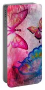 Butterfly Jam Portable Battery Charger