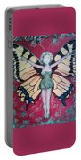 Butterfly Lady Portable Battery Charger