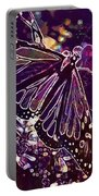 Butterfly Monarch Flower  Portable Battery Charger