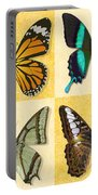 Four Butterfly Montage Portable Battery Charger