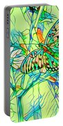 Butterfly Mosiac Portable Battery Charger