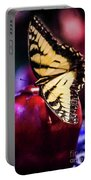 Butterfly On Apple Portable Battery Charger