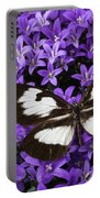 Butterfly On Campanula Get Mee Portable Battery Charger