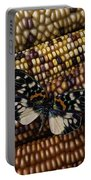 Butterfly On Indian Corn Portable Battery Charger